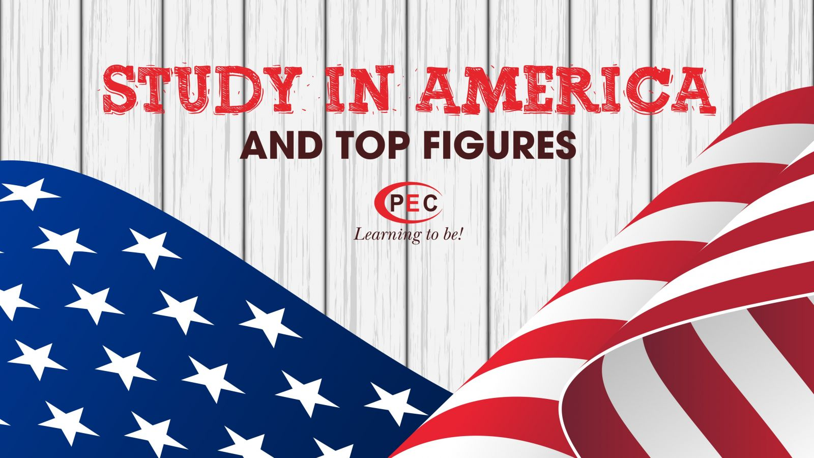 Study in America and top figures